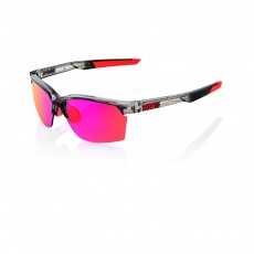 Sportcoupe Polished Translucent Crystal Smoke - Purple Multilayer Mirror Lens