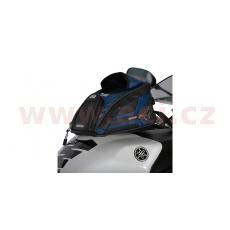 tankbag na motocykl M2R, OXFORD (černý/modrý, s magnetickou základnou, objem 2 l)