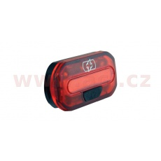 světlo na kolo zadní BRIGHT TORCH REDLINE, OXFORD (LED, světelný tok 5 lm)
