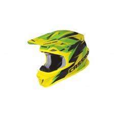 přilba Cross Pro, CASSIDA (zelená/žlutá fluo/černá)