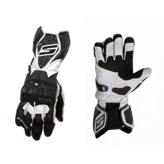 Moto rukavice FIVE RFX1 černo/bílé