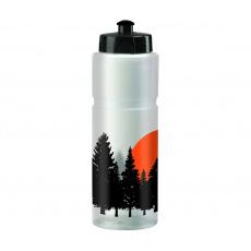 KELLYS Láhev TRACE 022 Forest Semi-transparent White 0,75l