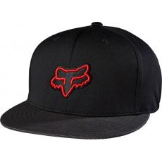 Pánská čepice Fox Racing Distain Snapback Hat Black