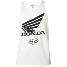 Pánské tílko Fox Honda Premium Tank Optic/White
