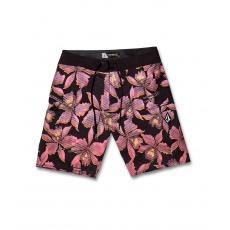 """Pánské plavky Volcom Fauna Mod 20"""" Neon Pink"""
