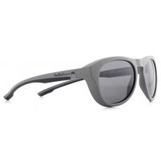 sluneční brýle RED BULL SPECT Sun glasses, KINGMAN-006P, light grey, white, smoke gradient with silver flash POL, 51-19-145