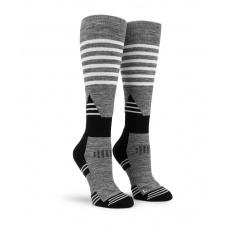 Dámské ponožky Volcom Tundra Tech Sock Charcoal Heather