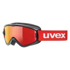 lyžařské brýle UVEX SPEEDY PRO TAKE OFF, black-red/litemirror red (2026)