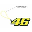 Klíčenka Valentino Rossi VR46 žlutá PAT101