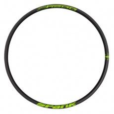 "OOZY Trail 345 Rim, 27.5"" Black Green"