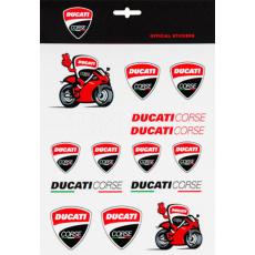 Samolepky DUCATI 56012 - formát A4