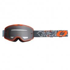 Brýle O´Neal B-20 STRAIN šedá/oranžová