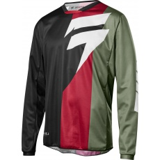 Pánský MX dres Shift Whit3 Tarmac Jersey Black