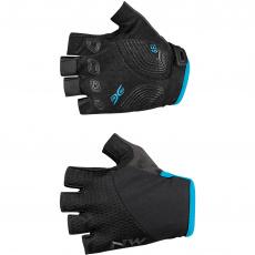 Dámské rukavice Northwave Fast W Glove Black/Light Blue