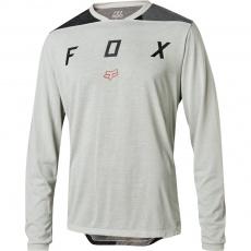 Pánský Cyklistický dres Fox Indicator LS Mash Camo Jersey Grey vel. M