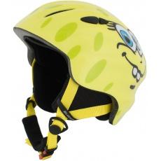 helma BLIZZARD Magnum ski helmet junior, yellow cheese shiny
