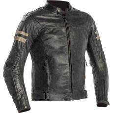 Moto bunda RICHA HAWKER šedá kožená - nadměrná velikost