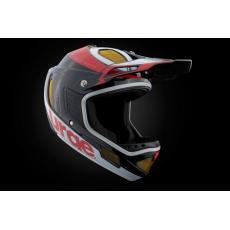 URGE Down-O-Matic RR - Black Red White helma