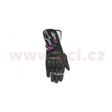 rukavice STELLA SP-8, ALPINESTARS, dámské (černé/bílé/fialové)