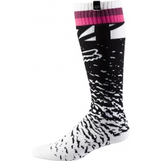 MX ponožky Women MX Sock OS Black/Pink