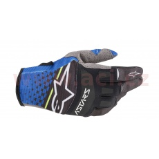 rukavice TECHSTAR 2020, ALPINESTARS (tmavá modrá/černá)