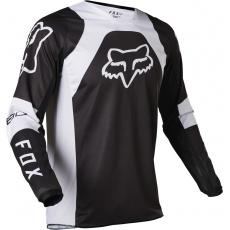 Pánský MX dres Fox 180 Lux Jersey Black/White