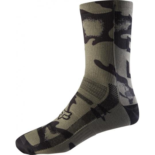 Cyklo ponožky Fox 8 Print Sock Cam