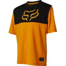 Dětský dres Fox Youth Ranger Dr Ss Jrsy Atomic Orange