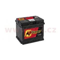 45Ah baterie, 400A, pravá BANNER Starting Bull 210x175x190