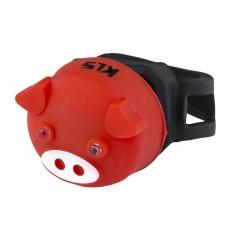 KELLYS Osvětlení zadní KLS PIGGY, red