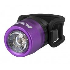 KELLYS Osvětlení přední dobíjecí IO USB Front, purple