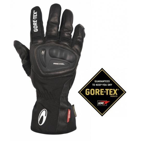 Moto rukavice RICHA HURRICANE GORE-TEX černé