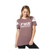 Dámské triko Fox Charger Ss Knit Purple