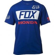 Pánské tričko Fox Honda Basic Standard Tee Blue