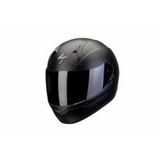 Moto přilba SCORPION EXO-390 solid černá matná