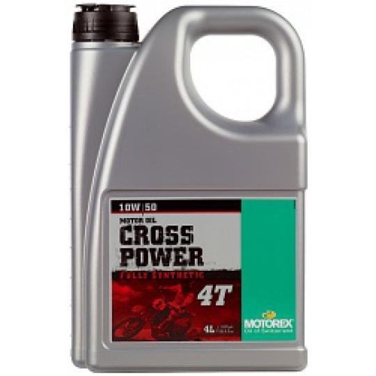 motorový olej  4T syntetický 10W/50 4 litry