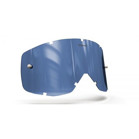 plexi pro brýle SCOTT HUSTLE/TYRANT/SPLIT, ONYX LENSES (modré s polarizací)