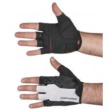 Pánské rukavice Northwave Evolution Short Glov White/Black