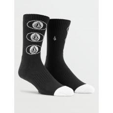 Pánské ponožky Volcom Vibes Socks Black