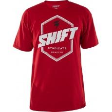 Pánské triko Shift Prism Ss Tee Cardinal Red