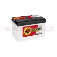 77Ah baterie, 700A, pravá BANNER Power Bull Professional 278x175x190