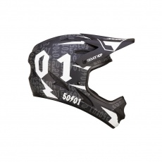 7idp - SEVEN helma M1 50:01 Black White (50fifty) vel. XL