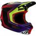 Pánská přilba Fox V2 Voke Helmet, Ece Dark Purple