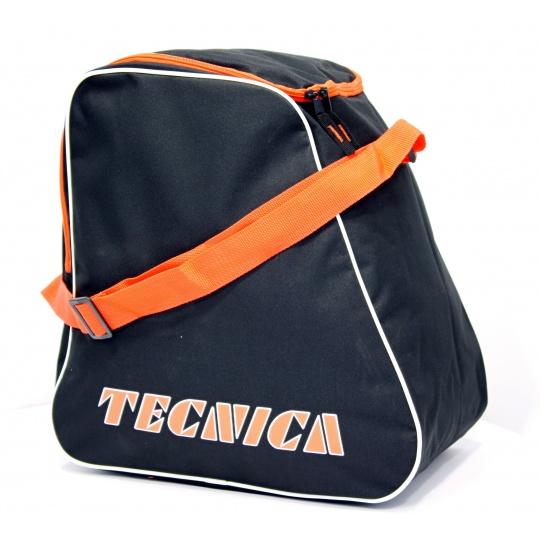 taška na lyžáky TECNICA Skiboot bag, black/orange