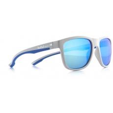 sluneční brýle RED BULL SPECT Sun glasses, BUBBLE-006, light grey, light blue, green with green revo, 54-17-145