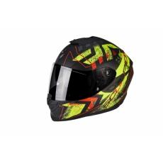 Moto přilba SCORPION EXO-1400 AIR PICTA matná černo/neonově žlutá