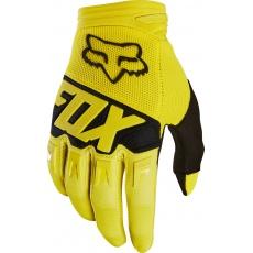 Fox Dirtpaw Race Glove - pánské MX rukavice Yellow
