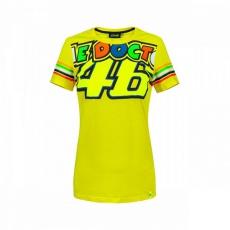 Dámské triko Valentino Rossi VR46 žluté 307001
