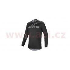 dres FLUID GRAPHITE 2022, ALPINESTARS (černá/šedá)