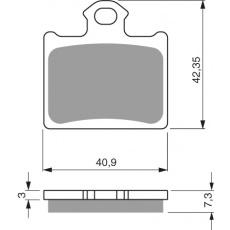 brzdové desky Delta jako GF 297